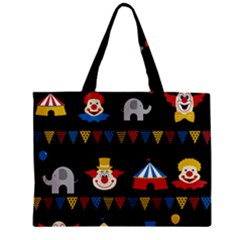 Circus  Zipper Mini Tote Bag by Valentinaart