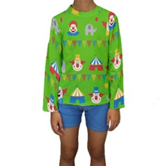 Circus Kids  Long Sleeve Swimwear