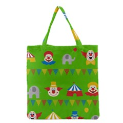 Circus Grocery Tote Bag