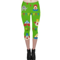 Circus Capri Leggings