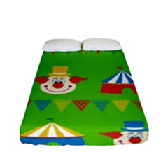 Circus Fitted Sheet (Full/ Double Size)