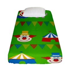 Circus Fitted Sheet (Single Size)