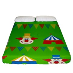 Circus Fitted Sheet (Queen Size)
