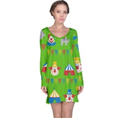 Circus Long Sleeve Nightdress
