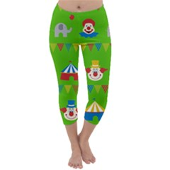 Circus Capri Winter Leggings