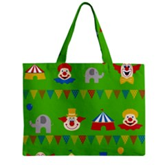 Circus Zipper Mini Tote Bag