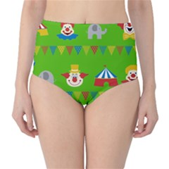 Circus High-Waist Bikini Bottoms