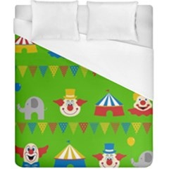 Circus Duvet Cover (California King Size)