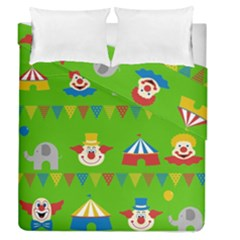 Circus Duvet Cover Double Side (Queen Size)