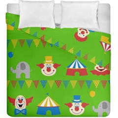 Circus Duvet Cover Double Side (King Size)