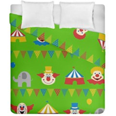 Circus Duvet Cover Double Side (California King Size)