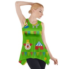 Circus Side Drop Tank Tunic