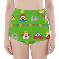 Circus High-Waisted Bikini Bottoms