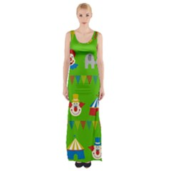 Circus Maxi Thigh Split Dress