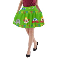 Circus A-Line Pocket Skirt