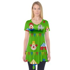 Circus Short Sleeve Tunic