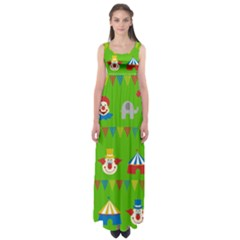 Circus Empire Waist Maxi Dress