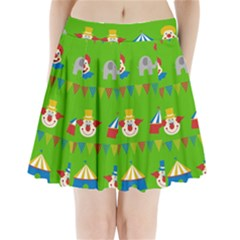 Circus Pleated Mini Skirt