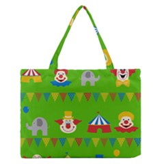Circus Medium Zipper Tote Bag