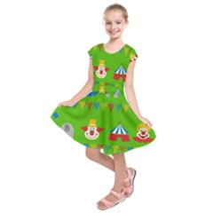 Circus Kids  Short Sleeve Dress