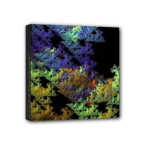 Fractal Forest Mini Canvas 4  X 4  by Simbadda