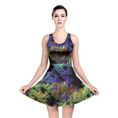 Fractal Forest Reversible Skater Dress