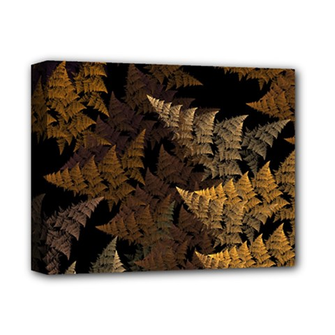 Fractal Fern Deluxe Canvas 14  X 11  by Simbadda
