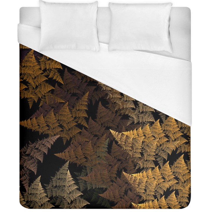Fractal Fern Duvet Cover (California King Size)