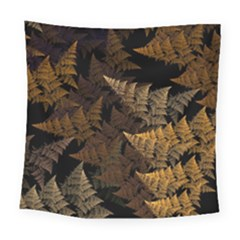 Fractal Fern Square Tapestry (large) by Simbadda