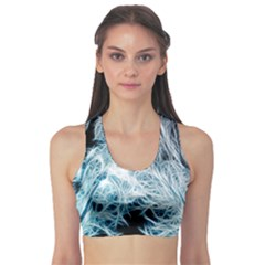 Fractal Forest Sports Bra by Simbadda
