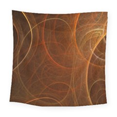 Fractal Color Lines Square Tapestry (large) by Simbadda