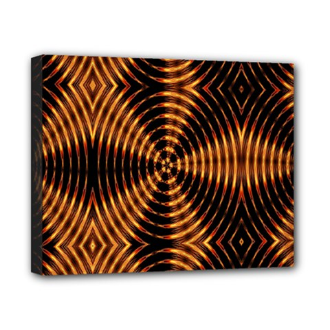 Fractal Patterns Canvas 10  X 8  by Simbadda