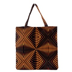 Fractal Patterns Grocery Tote Bag by Simbadda