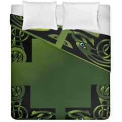 Celtic Corners Duvet Cover Double Side (california King Size)