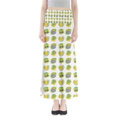 St Patrick s Day Background Symbols Maxi Skirts by Simbadda