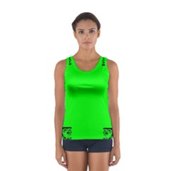 Decorative Corners Women s Sport Tank Top  by Simbadda