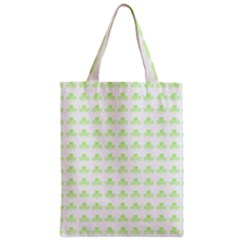 Shamrock Irish St Patrick S Day Zipper Classic Tote Bag by Simbadda