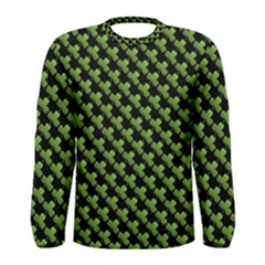 St Patrick S Day Background Men s Long Sleeve Tee by Simbadda