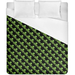 St Patrick S Day Background Duvet Cover (california King Size) by Simbadda