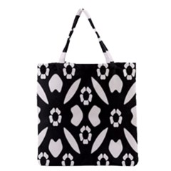 Abstract Background Pattern Grocery Tote Bag