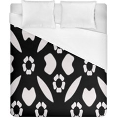 Abstract Background Pattern Duvet Cover (california King Size) by Simbadda