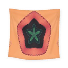 Fractal Flower Square Tapestry (Small)