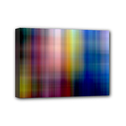 Colorful Abstract Background Mini Canvas 7  X 5  by Simbadda