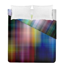 Colorful Abstract Background Duvet Cover Double Side (full/ Double Size) by Simbadda