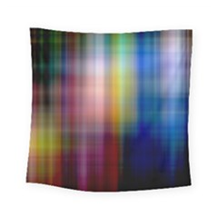 Colorful Abstract Background Square Tapestry (small) by Simbadda