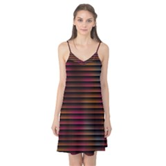 Colorful Venetian Blinds Effect Camis Nightgown