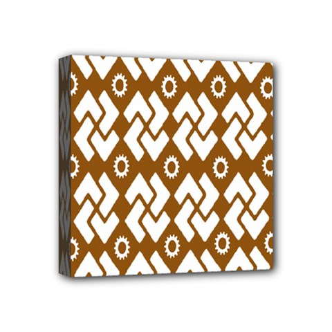 Art Abstract Background Pattern Mini Canvas 4  X 4