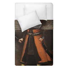 Count Vlad Dracula Duvet Cover Double Side (single Size) by Valentinaart
