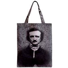 Edgar Allan Poe  Zipper Classic Tote Bag by Valentinaart