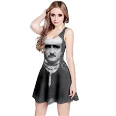 Edgar Allan Poe  Reversible Sleeveless Dress by Valentinaart